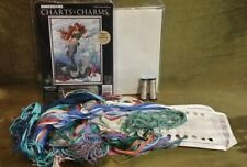 Dimensions Charts & Charms Ocean Princess Cross Stitch Kit Threads Fabric