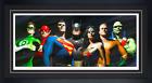Sideshow ALEX ROSS Frame 'Original Seven' Deluxe Fine Art Lithograph SDCC DX