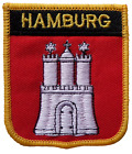 Hamburg Germany Shield Embroidered Patch