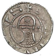 CRUSADERS, Antioch. Bohemond III,1163-1188 AD. Silver Denier