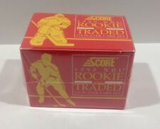 1990 Score NHL Rookie and Traded Factory Set - New Sealed