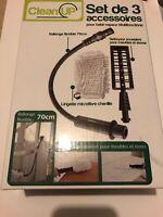😍 clean up set 3 accessoires pour balai vapeur multifonctions neuf