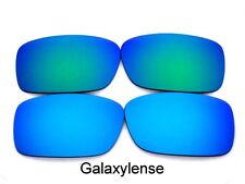 Galaxy Replacement Lenses For Oakley Crankcase Blue&Green Polarized 2 Pairs