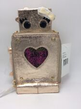$88  BETSEY JOHNSON Kitsch Love Machine Crossbody Bag V2a