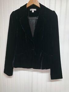 Caslon Nordstrom  Black Shell Jacket Blazer Size 6