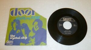 THE DOORS LIGHT MY FIRE / THE CRYSTAL SHIP Vedette Records VRN 34081 45 giri