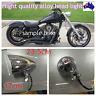 """7"""" Chrome alloy bullet head light Harley Sportster XL DYNA Chopper Bobber bigdog"""