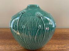 Tim Eberhardt studio pottery Thistle vase 2005