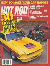 HOT ROD FEBRUARY 1984-64 PLYMOUTH SPORT FURY-68 CAPRICE ESTATE-32 MODEL B  3W V8