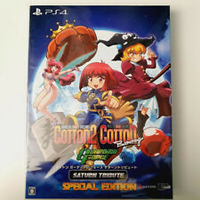 Cotton Guardian Force Saturn Tribute Special Edition PS4 JAP Game In English Ver