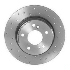 Brembo Rear Xtra Brake Disc Rotor Drilled for Crossfire Mercedes W203 S210 R170