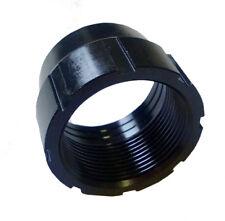 Savage Barrel Lock Nut Black Small Shank