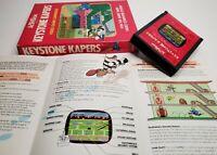 KEYSTONE KAPERS - Atari 2600 Video Game Complete Catridge Manual Box