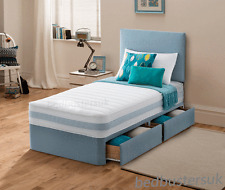 Single 3FT Divan Bed With Mattress With drawers Option Childrens & kids & adults