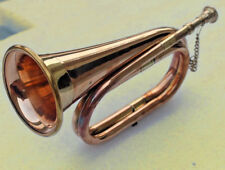 New Bugle Brass & Copper Instrument Boy Scouts Military Student Collectibles