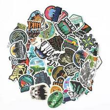 50 Waterproof Skateboard Camping Travel Stickers Vinyl Luggage Decals Stickers