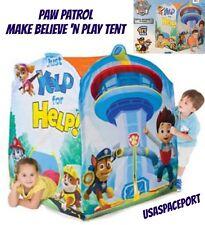 4 foot Kids PAW PATROL Make Believe N Play MEGA TENT PLAYHUT Playhouse Boys Gift