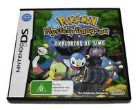 Pokemon Mystery Dungeon Explorers of Time DS 2DS 3DS Game *No Manual*