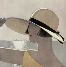 ART DECO FASHION Suzanne Lussier Mode  Georges Lepape Barbier André Marty Benito