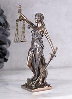Justitia Figur Göttin der Gerechtigkeit Jugendstil Skulptur Mythologie Kanzlei