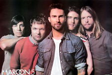 """Maroon 5 """"Band Standing Behind Adam Levine"""" Poster From Asia-Pop/Funk Rock Music"""