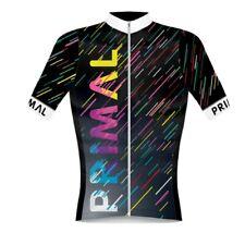 Primal Wear Acid Rain Men's Helix 2.0 Race Cut Full Zip Cycling Jersey