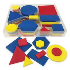 ATTRIBUTE BLOCKS~Quiet Shape Foam Desktop 60 pc # 531250~MONTESSORI  ACTIVITY~