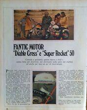 ANNI 70  MOTO FANTIC MOTOR DIABLO CROSS SUPER ROCKET