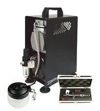 Professional Airbrushing Kit With Badger Krome & Sparmax 610H Compressor