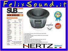 Hertz HX250 D  Hi Energy SUBWOOFER  900W Doppia  bobina  4 + 4 ohm