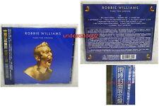 Robbie Williams Take The Crown [Roar Edition] Taiwan Ltd CD w/OBI
