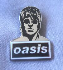 Oasis 'Liam' enamel badge. Liam Gallagher,Noel,Mod,Pretty Green, Tickets