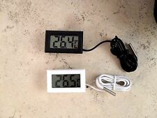 NEW AQUARIUM TEMPERATURE GAUGE LCD DIGITAL THERMOMETER FISH TANK WATER