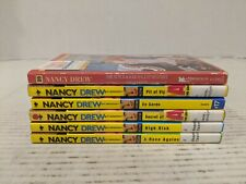 Lot of 6 Nancy Drew Books Paperback Carolyn Keene Free Shipping!