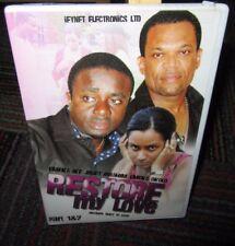 RESTORE MY LOVE PART 1 &2 DVD MOVIE BY FRANCO FILMS, FILMED IN GHANA, GUC