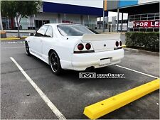 R33 ROCKET BUNNY REAR BOOT LID SPOILER DRIFT WING SKYLINE GTS GTR 2 DOOR COUPE