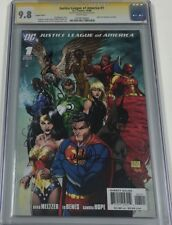 DC Justice League of America #1 Variant Signed by Michael Turner CGC 9.8 SS