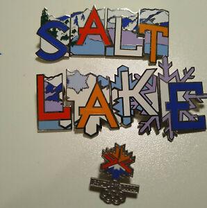 2002 Salt Lake Winter Olypmics Pin Lot 9 Home Depot