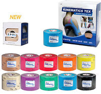 SPOL 6 Roll 5CMx5M Kinesiology Sports therapeutic Elastic Tape Muscle Pain care