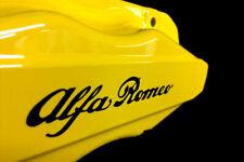 6 x  Compatible with Alfa Romeo Brake Caliper Decals Stickers (BLACK)