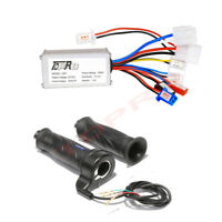 24V 250W Brush Motor Speed Controller + Throttle For Scooter Electric Bike Razor