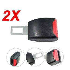 2X Universal Car Seat Belt Clip Extender Safe Buckle Extension Seatbelt Vehicles