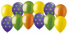12 pc Barney Dinosaur Inspired Latex Balloons Party Decoration Birthday Dots