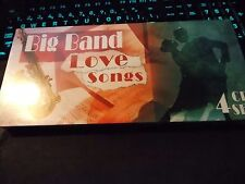 Big Band Love Songs by Various Artists, 4 CD Box Set (2006 Direct Source) New