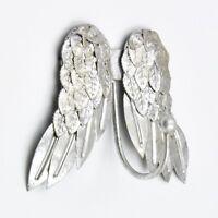 Silver Pretty Angel Wings Cherubs Wing Coat Hook Hooks Wall Mounted Door Hook Ha