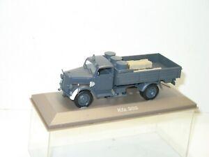 Zweiter Weltkrieg Wüsten Tarnmuster Deutsch Kfz.305 Opel Blitz Lkw-Modell Gebaut