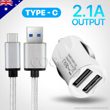 USB-C Car Charger Adapter for Samsung S9 S8 Plus Google Pixel OPPO Huawei Type-C