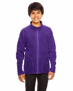 Team 365 Fleece Jacket Youth Campus Microfleece Jacket TT90Y