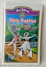 Mary Poppins Walt Disney Masterpiece Collection vhs Sealed!!