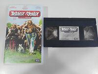 ASTERIX Y OBELIX CONTRA CESAR DEPARDIEU - VHS CINTA TAPE COLECCIONISTA ESPAÑA &